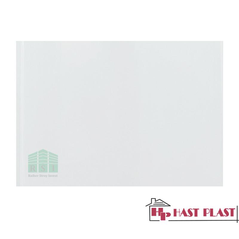"Потолочная ПВХ панель ""Hast Plast"" (белый глянцевый)"