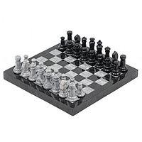 Шахматы сувенирные из мрамора и змеевика 32х32 см