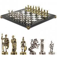 """Шахматы """"Римские воины"""" 36х36 см мрамор"""