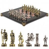 """Шахматы """"Римские воины"""" 28х28 см из креноида"""
