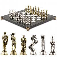 """Шахматы """"Греко-Римская война"""" 32х32 см мрамор"""