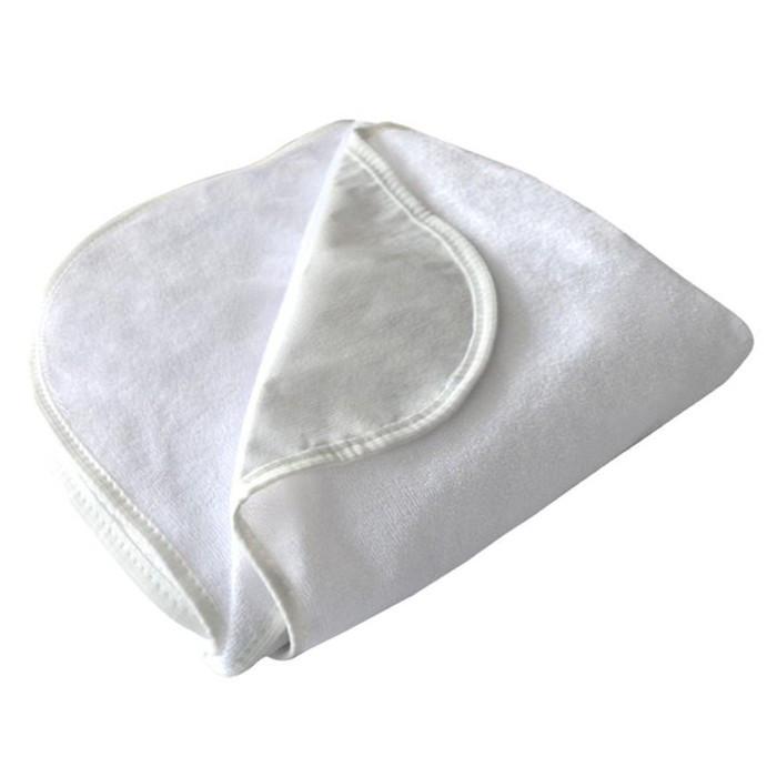 Наматрасник водонепроницаемый на резинке 140х200 см, белый, хл.80%, пэ 20%