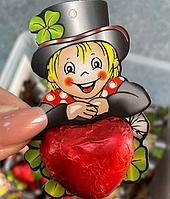 Шоколадные фигурки Сердечко