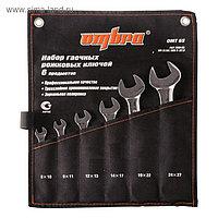 Набор рожковых ключей Ombra OMT6S, 8-27 мм, 6 предметов
