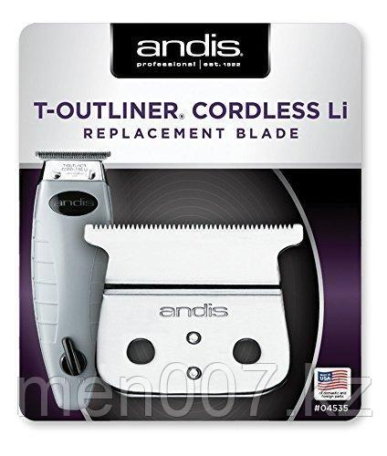 Нож для машинки Andis Cordless T-Outliner® Li Replacement Blade