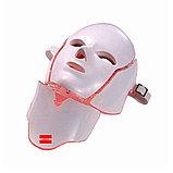 Аппарат LED маска с шеей, фото 2