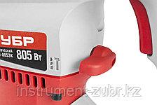 Перфоратор SDS-plus, ЗУБР ЗП-805ЭК, 3.8 Дж, 800 об/мин, 3000 уд/мин, 805 Вт, кейс, фото 3