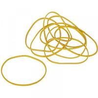 Резинки для денег Attache, d-60 мм, 500 г, желтый