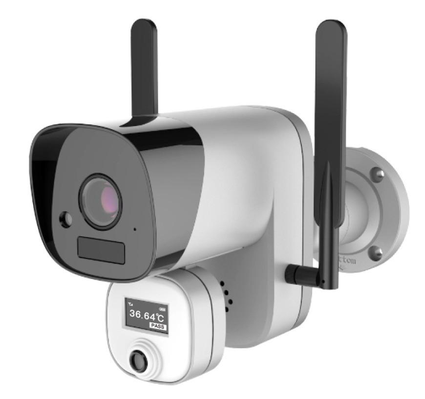 Wi-Fi камера для измерения температуры тела ZKTeco ZN-T3