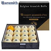Шары Super Aramith Pro-Cup Tournament Pyramid 67 мм комплект