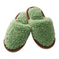 Тапочки ФЕГЕН, размер 37-40, цвет зелёный