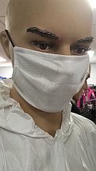 Маска многоразовая тканевая