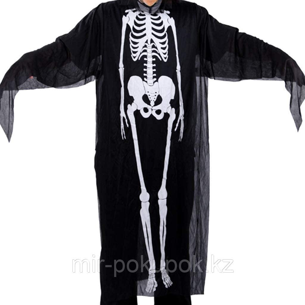 """Накидка """"Скелет"""" для Хэллоуина"""