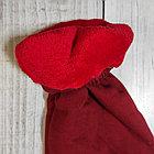 Штаны утепленные с меховушкой  цвет красный, на возраст 7-8 лет, фото 3