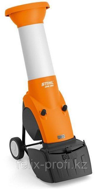 Садовый измельчитель веток электрический STIHL GHE 260.0 , 2.9 кВт/400 В толщина сучка до 35 мм.