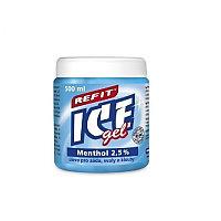 Refit Ice Gel, Охлаждающий гель 2,5% ментола, 500 мл
