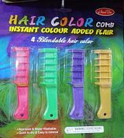 Мелки для волос - временное окрашивание волос (набор из 4 шт)