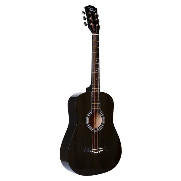 Акустическая гитара, черная, Fante FT-R38B-BK