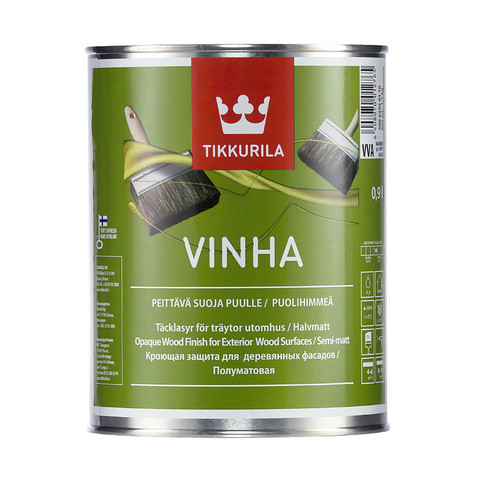 VINHA водоразбавляемый кроющий антисептик VVA п/мат 0,9 л.