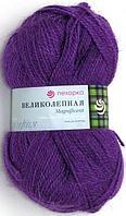 Пряжа Пехорка 'Великолепная' (30%ангора, 70%акрил) (78-Фиолетовый)