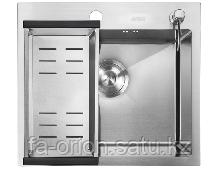 Кухонная мойка НМ 5045 satin (3,0+1,2ММ)