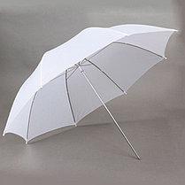 2 зонта 82 см на просвет с патроном с лампой 40 Ватт на стойках, фото 3