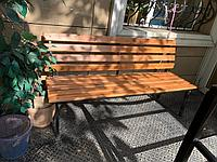 Садовая скамейка, фото 1