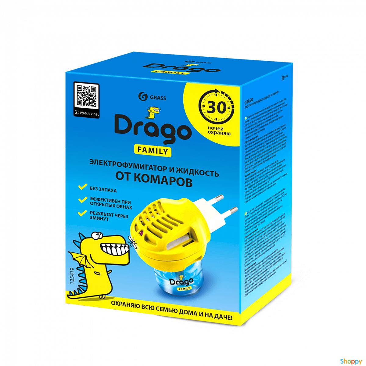 Жидкость от комаров Drago