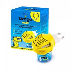 Комплект электрофумигатор и жидкость от комаров Drago 30 мл