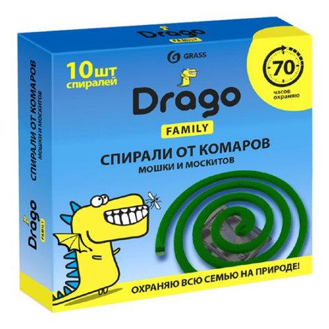 Спираль от комаров – эффект Drago  (10 спиралей), фото 2