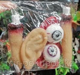 Кровавые уши,глаза ,пальцына Хэллоуин