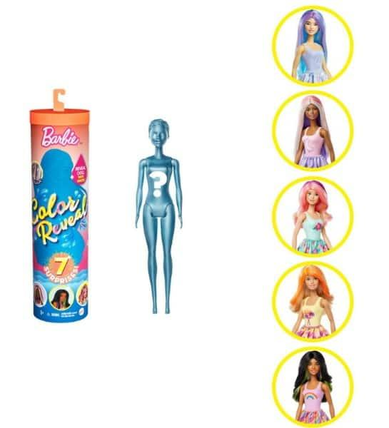 Barbie Color Reveal – 3 серия