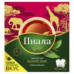 Чай Пиала gold черный кенийский 100 пакетиков
