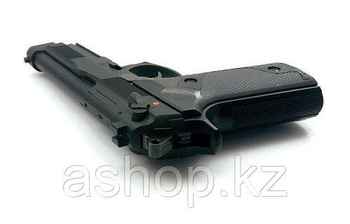 Пистолет для страйкбола ASG M9, Калибр: 6,0 мм, Дульная энергия: 0,8 Дж, Ёмкость магазина (барабана): 25, Исто