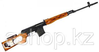 Винтовка снайперская для страйкбола ASG Dragunov SVD Wood, Калибр: 6,0 мм, Дульная энергия: 1,4 Дж, Ёмкость ма