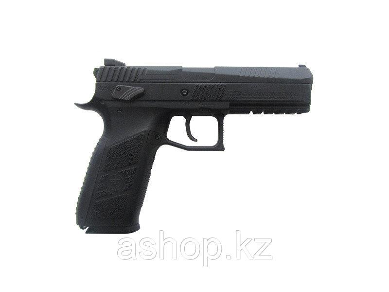 Пистолет для страйкбола ASG CZ P-09 Duty, Калибр: 4,5 мм (.177, BB), Дульная энергия: 0,7 Дж, Ёмкость магазина