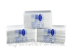 Бумажные полотенца  V-сложение ( целлюлоза ) 13 пач/кор. 20*20 см