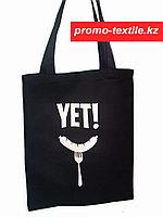 Эко сумка черный (шоперы черного цвета)