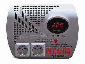 Стабилизатор напряжения электронный (Релейный) - РЕСАНТА ACH-1000Н2/1-Ц - 1 кВт-Настенный