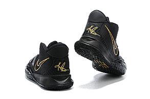 Баскетбольные кроссовки Nike Kyrie 7 (VII ) Black / Gold, фото 2