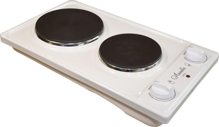 Плитка 2-х конфорочная ЭПБ 22 белая, 2,2 кВт Лысьва (К)