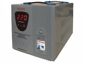 Стабилизатор напряжения электронный (Релейный)  -РЕСАНТА ACH-8000/1-Ц 8 кВт
