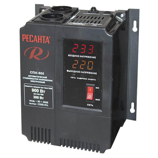 Cтабилизатор пониженного напряжения РЕСАНТА-СПН-900- Настенный 900 Вт