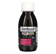 Sambucol, Черная бузина, поддержка иммунной системы, для детей, сироп, 120 мл, фото 3