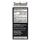 Sambucol, Черная бузина, поддержка иммунной системы, для детей, сироп, 120 мл, фото 2