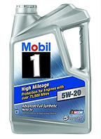 Моторное масло Mobil High Mileage 5W20 5quart (4.73л)