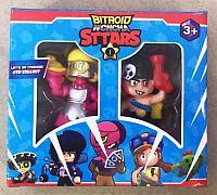 Детская игрушка фигурка Бравл Старс Brawl Stars 2 штуки в коробке