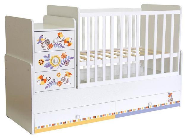 Кроватки трансформер Фея 1100