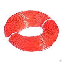 Леска строительная, 100 м, D 1 мм, цвет оранжевый// Сибртех