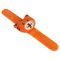 Игольница на браслете 'Тигра', цвет оранжевый